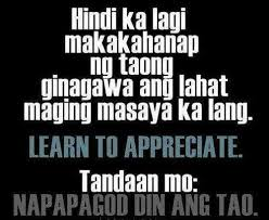 sad love tagalog quotes tumblr - Google Search | We Heart It ... via Relatably.com