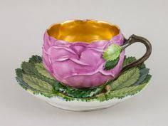 Buchecker & Hirsch, cup and saucer, 1818. Porcelain, Vienna ...