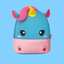 Новый рюкзак с единорогом для девочек и мальчиков, сумка для ...
