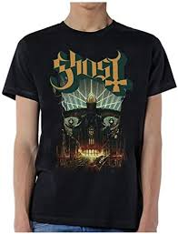 ill Rock Merch Ghost Meliora T-Shirt: Clothing - Amazon.com