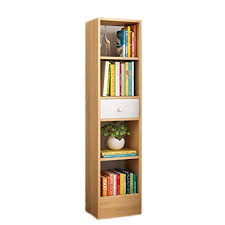 Wood Bookshelf Modern <b>Home</b> Office <b>Furniture</b>, <b>Nordic</b> Maple ...