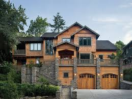 House Plans   Floor Plans   Home Designs   TheHousePlanShop comHouse Plan Photo Collection  Luxury Mountain Home  H