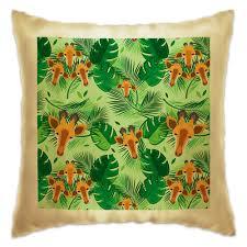 Подушка Жирафы в тропических листьях #3145516 в Москве ...