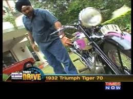 Times Drive :1932 Triumph <b>Tiger 70</b> - YouTube