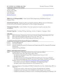 Sample Resume for a Military to Civilian Transition   Military com getessay biz