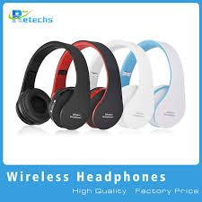 NX 8252 Professional <b>Foldable Wireless Headphones Super</b> Effect ...