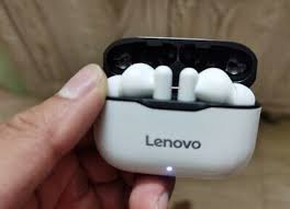 New <b>Lenovo LP1 Wireless Bluetooth</b> Headset V5.0 Touch Earphone ...