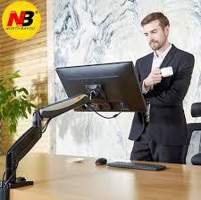 NB F85A <b>Desktop Mechanical Spring Full</b> Motion 22 32 inch Monitor ...