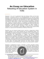 an essay on education   analysis of education system in india  an essay on education   analysis of education system in india what we need to modify  delhi
