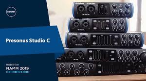 <b>PreSonus Studio</b> 24c / 26c / 68c / 1810c / <b>1824c</b> - Знакомство с ...