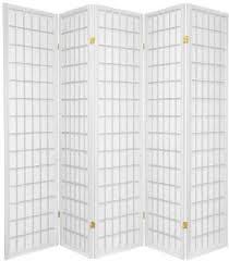 oriental furniture asian furniture 6 feet window pane japanese shoji privacy screen room divider 5 panel white cheap oriental furniture