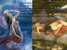 echo and narcosis myth english greek mythology showme