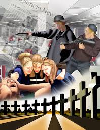 this is a painting i did of the columbine high school shooting this is a painting i did of the columbine high school shooting done in photoshop