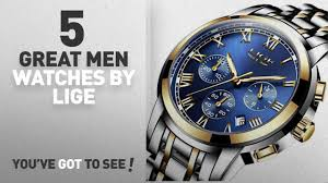 <b>Top</b> 10 <b>Lige Men Watches</b> [ Winter 2018 ]: <b>LIGE Men's</b> Quartz ...