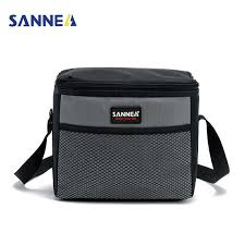 <b>SANNE</b> 4L Portable Insulated Lunch Bags Mini Roomy Milk Bottle ...