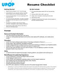 how to write a high school resume the small town top college blog resume building checklist from upop at mit