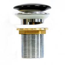 <b>Донный клапан</b> с переливом <b>Melana T201B</b> черный — купить в ...