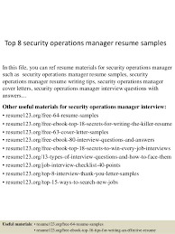 top security operations manager resume samples jpg cb  top 8 security operations manager resume samples in this file you can ref resume materials