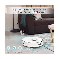 <b>360 S7 Laser Navigation</b> Robot Vacuum Cleaner with SLAM Route ...