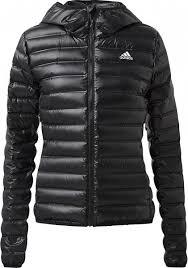 <b>Куртка</b> пуховая <b>женская</b> Adidas Varilite <b>Hooded</b> черный цвет ...