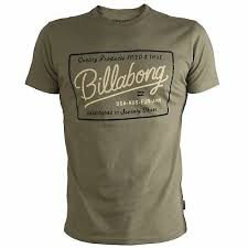 <b>Vintage</b> Billabong <b>High Quality Mens Top</b> - Brown Grey T-Shirt | eBay