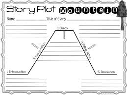 ideas about plot diagram on pinterest   graphic organizers    story plot mountain  can use this to teach students how their stories need to have different elements