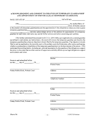 temporary guardianship letter informatin for letter letters of temporary guardianship hashdoc temporary legal guardianship form