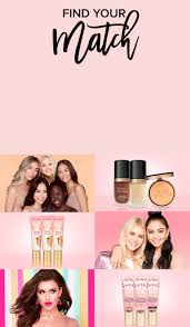 Shade Finder Landing Page | <b>TooFaced</b>