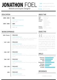 free creative resume   cv templates  resume template