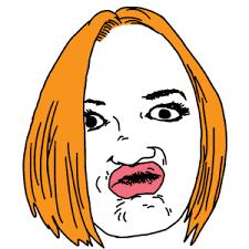 Duck Face Blank Meme Template - Imgflip via Relatably.com