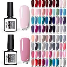229 <b>Colors LEMOOC</b> Soak Off Gel Nail Polish Nail Art UV Gel Nail ...