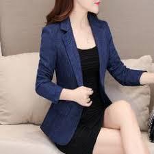 <b>Yuxinfeng Spring Autumn Women</b> Work Blazer Slim Buckle 3/4 ...