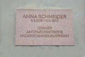 Gedenktafel Anna Schneider - Gedenktafel%20Anna%20Schneider