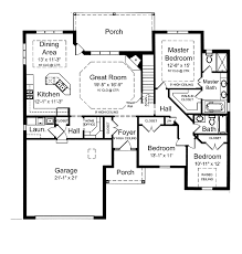 Level House Plans   Smalltowndjs comMarvelous Level House Plans   One Level House Plan