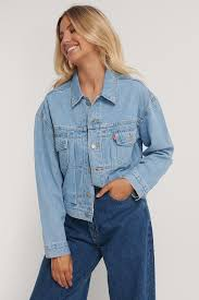 <b>New Heritage</b> Trucker Jacket Blue | na-kd.com