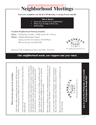 sample flyer provo city neighborhood program handbook sample flyer