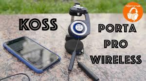 <b>Koss Porta Pro</b> Wireless | Обзор легендарных <b>наушников</b>, но с ...