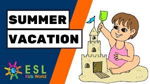 ♂️<b>Summer Vacation</b> Story | Classroom Story for ESL Children ...