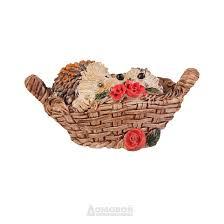 <b>Фигурка декоративная для горшка</b> Домовой «Ёжик в горшочке ...
