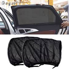<b>45X40CM Car Sun</b> Shade Side Window Cover Automatic Roller Car ...