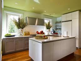 Painted Kitchen Painting Kitchen Cupboards Pictures Ideas From Hgtv Hgtv