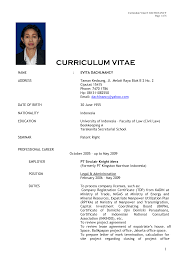 curriculum vitae standard format doc   resume buildercurriculum vitae standard format doc sample format of a standard curriculum vitae chadwick nott evita dachlnancy