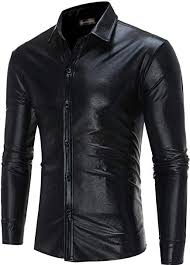 <b>Sportrendy Men</b> Casual Slim Fit Tattoo Long Sleeve Button Down ...