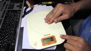 Как починить электронные <b>весы</b> Tefal - YouTube
