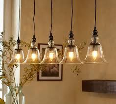 rustic glass 5 light hardwire pendant cable pendant lighting