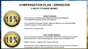 swisscoin compensation plan swissdreamteam  swisscoin compensation plan swissdreamteam 3