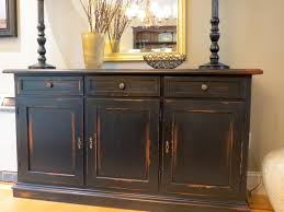 how to make distressed painted furniture black painted furniture ideas