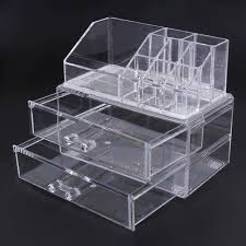 Акриловый <b>Органайзер</b> для макияжа, коробка для <b>хранения</b>