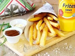 <b>Картофель фри</b> — рецепт с фото. Как сделать <b>картошку фри</b> в ...
