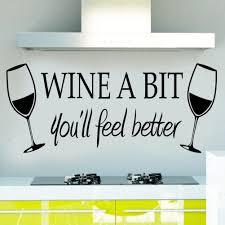 kitchen wall art wine bottle